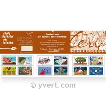 nr. BC526 -  Stamp France Stamp Day Booklet Panes