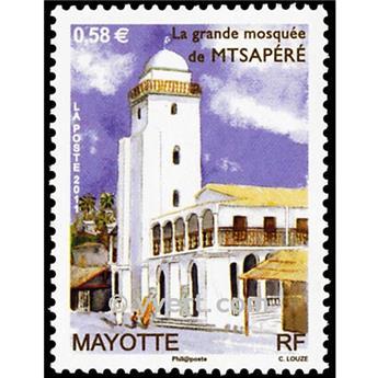 n.o 245 -  Sello Mayotte Correos