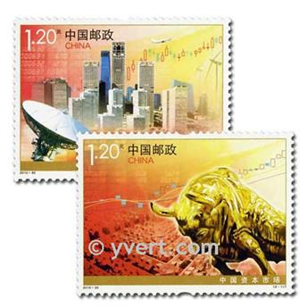 n° 4781/4782 -  Selo China Correios