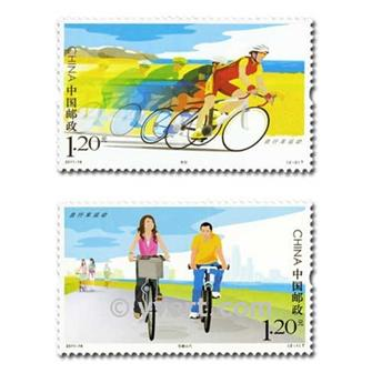 nr. 4840/4841 -  Stamp China Mail