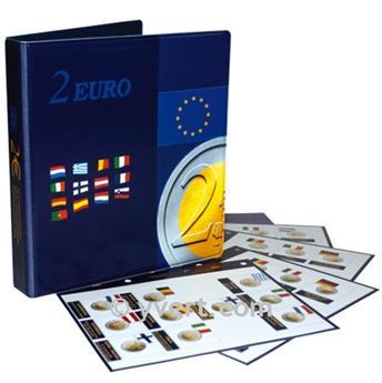 Álbum de Monedas de 2 € conmemorativas - MARINI®