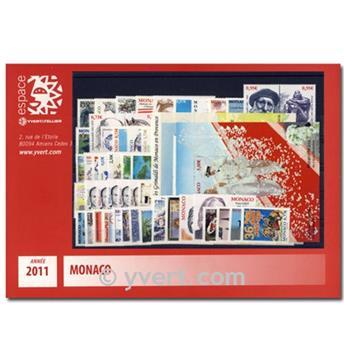 n° 2757/2808 -  Timbre Monaco Année complète (2011)