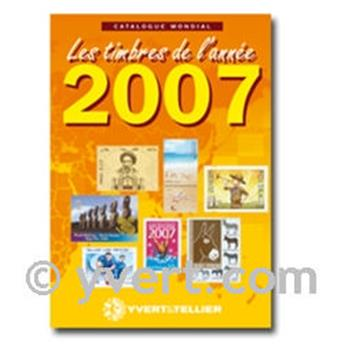 Stamps from the year 2007