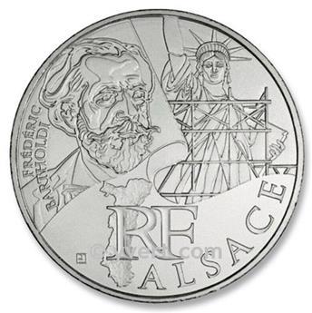 10€ DES REGIONS - Alsace - 2012