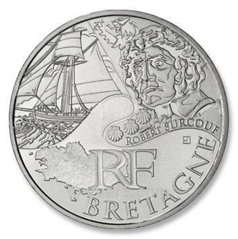 10 € DE LAS REGIONES - Bretagne - 2012