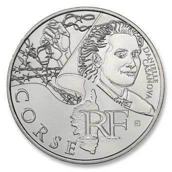 €10 DES REGIONS 2012 - Corse