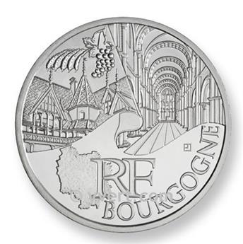 €10 DES REGIONS 2011 - Bourgogne