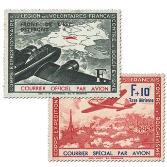 n° 4/5 -  Timbre France LVF