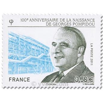 n° 4561 -  Selo França Correios