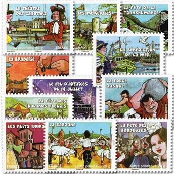 nr. BC566 -  Stamp France Self-adhesive