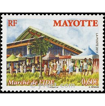 n.o 256 -  Sello Mayotte Correos