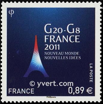 n.o 4575 -  Sello Francia Correos