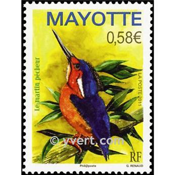n.o 249 -  Sello Mayotte Correos