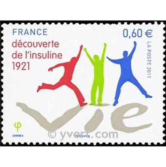 n.o 4630 -  Sello Francia Correos
