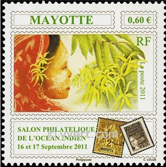 n.o 258 -  Sello Mayotte Correos