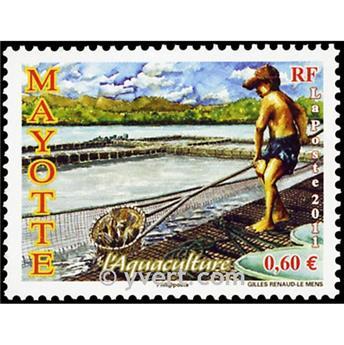 n.o 261 -  Sello Mayotte Correos