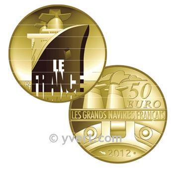 50 EUROS OR - FRANCE - LE FRANCE