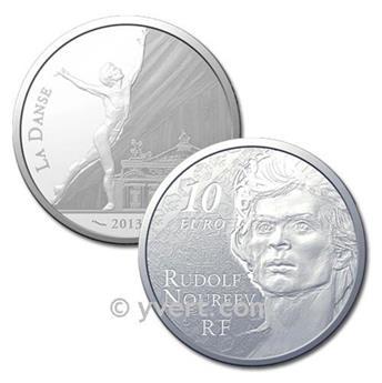 10 EUROS PLATA - FRANCIA - NOUREEV