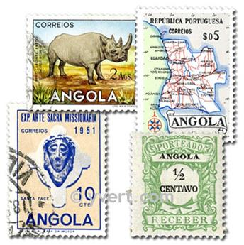ANGOLA: Envelope 50 stamps