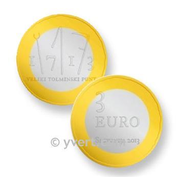 3 EUROS SLOVENIE 2013