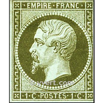 n° 11 obl. - Napoléon III (Empire Non dentelé)