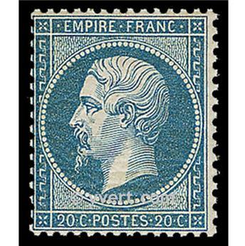 n° 22 obl - Napoléon III (Empire non lauré)