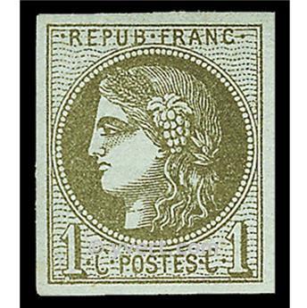 n° 39A obl. - Cérès (Émission de Bordeaux)