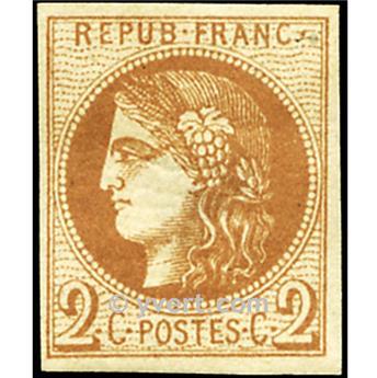n° 40B obl. - Cérès (Émission de Bordeaux)