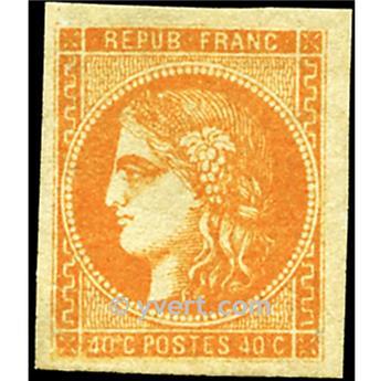 n° 48 obl. - Cérès (Émission de Bordeaux)