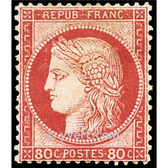 n° 57 obl. - Type Cérès dentelé (IIIe République)