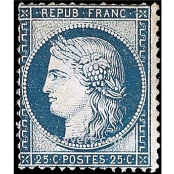 n° 60B obl. - Type Cérès dentelé (IIIe République)