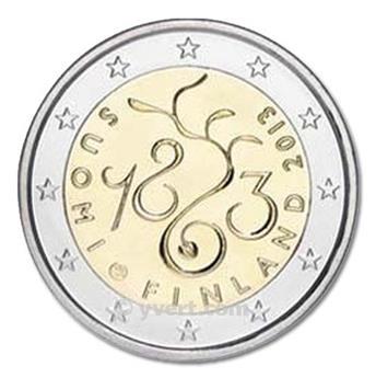 2 EURO COMMEMORATIVE 2013 : FINLANDE (150e anniversaire du Parlement finlandais et du début de la démocratie en Finlande)