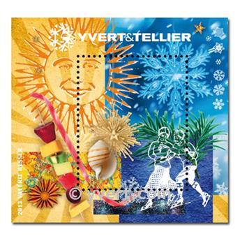 n.o 6 -  Sello Francia Bloque Yvert et Tellier