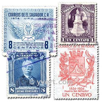 SALVADOR: envelope of 50 stamps
