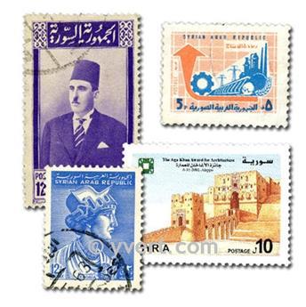 SYRIE : pochette de 100 timbres
