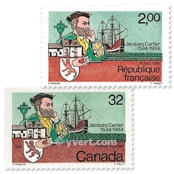 1984 - Emisiones comunes - Francia - Canadá