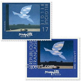 1998 - Emisiones comunes - Francia - Bélgica