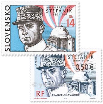 2003 - Emisiones comunes - Francia - Eslovaquia