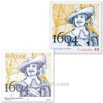 2004 - Joint issue-France-Canada