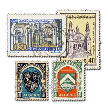 ALGERIA: envelope of 200 stamps