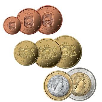 KIT EURO LETTONIE