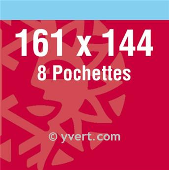 Protetores dupla solda -  LxA: 161 x 144 mm (Fundo preto)