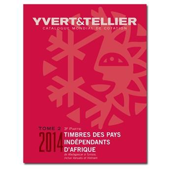 TOME 2/Partie 3 - 2014 (Catalogue des timbres des pays d´Afrique de M à T)