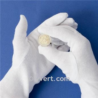 COTTON COIN GLOVES