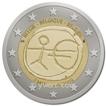 2 EUROS COMEMORATIVAS 2009: Bélgica (UEM)