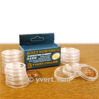 CAPSULES: 24.5 mm - FOR 50 CENTS