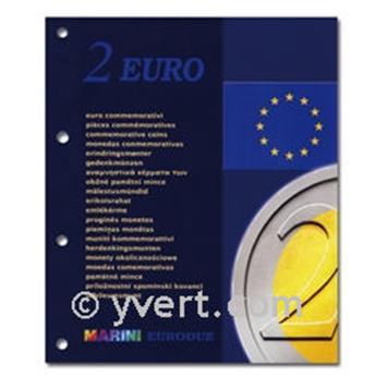Recargas 2 EUROS comemorativas 2008 - MARINI®