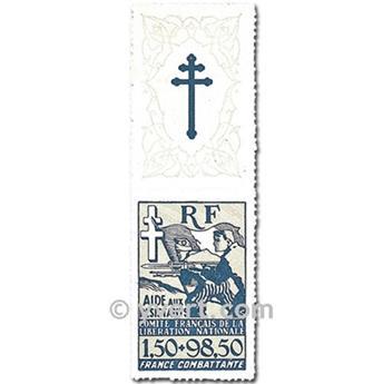 nr. 6 -  Stamp France Free
