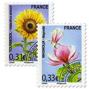 n° 257/258 -  Selo França Pré-obliterados