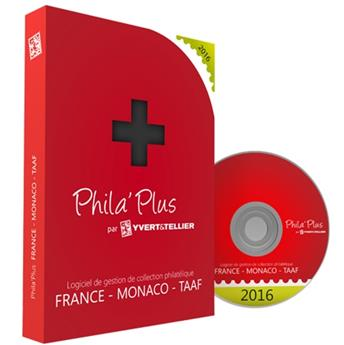 PHILA´PLUS Évolutif 2016 FRANCE (PC+MAC)
